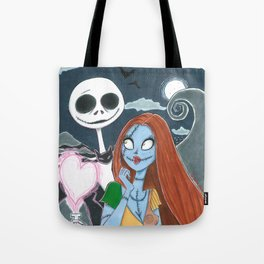 Jack loves Sally Tote Bag