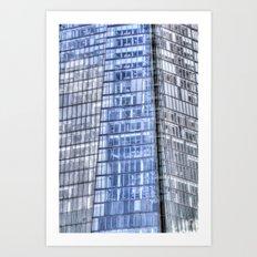 The Shard London abstract Art Print