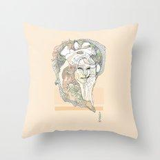 g a t t o Throw Pillow