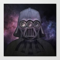 3 Eyes Darth Vader Canvas Print