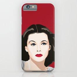 Hedy Lamarr portrait iPhone Case