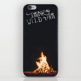 Drink That Wild Air iPhone Skin