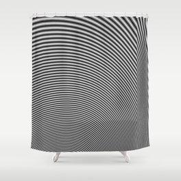 Fractal Op Art 2 Shower Curtain