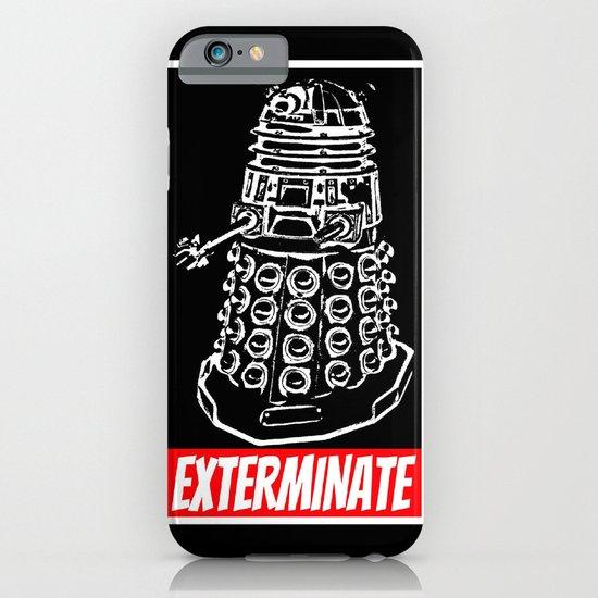 EXTERMINATE     Dalek     Dr. Who iPhone & iPod Case