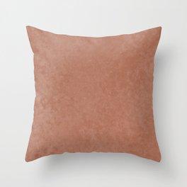 Sherwin Williams Cavern Clay Liquid Hues Illustration Throw Pillow