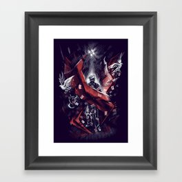 Final Trick Framed Art Print