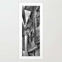 The old houses Art Print