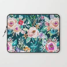 EFFUSIVE FLORAL Laptop Sleeve