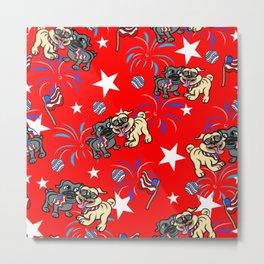 Puppy dog pals pattern Metal Print