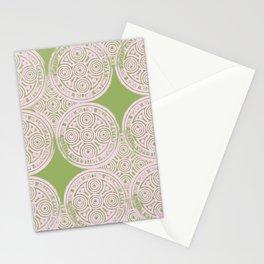 notting hill: olive & ballet pink Stationery Cards