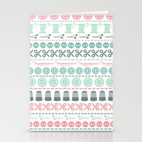 sewing Stationery Cards featuring Sewing by Heleen van Buul
