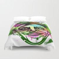 joker Duvet Covers featuring JoKER by BIG Colours