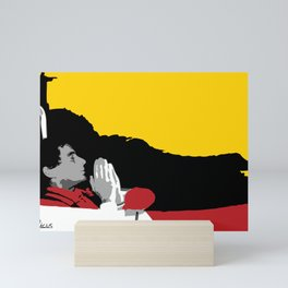 Against All Odds - Ayrton Senna Mini Art Print