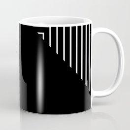 Modern Black and White Geometrical Patterns Coffee Mug