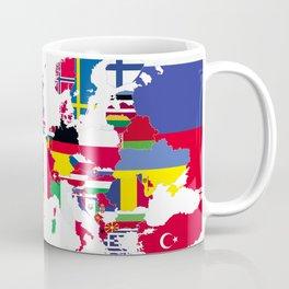 Europe flags white Coffee Mug