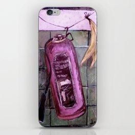 extincteurs et les bananes iPhone Skin