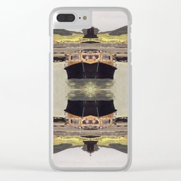 the boats Clear iPhone Case
