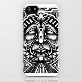 Shamanic trance iPhone Case