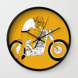 kick Wall Clock