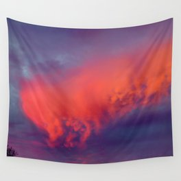 Floating Caterpillar in the Sky Wall Tapestry