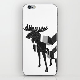 moose_deconstructed iPhone Skin