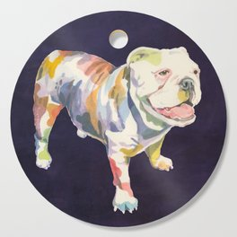 English Bulldog Cutting Board