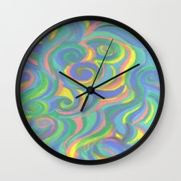 Number Eight  Wall Clock