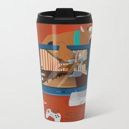 Horror Game Metal Travel Mug