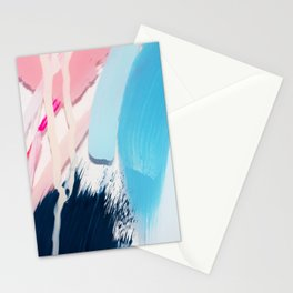 Even After All  #4 - Abstract on perspex by Jen Sievers Stationery Cards