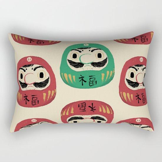 super daruma bros Rectangular Pillow