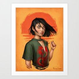 Mulan Art Print