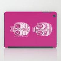 sugar skulls iPad Cases featuring Sugar Skulls by Diana Dypvik