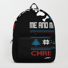 Dogs Ugly Christmas xmas Outfit Backpack