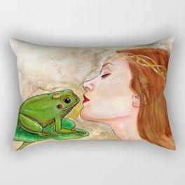 Der Froschkönig Rectangular Pillow