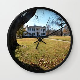 Cherokee Nation - The Historic George M. Murrell Home, No. 2 of 5 Wall Clock