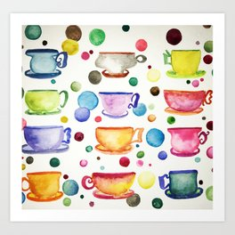 Coffee or Tea Art Print