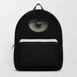 green cat's eyes Backpack