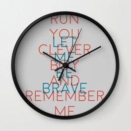 Clara Oswald Wall Clock