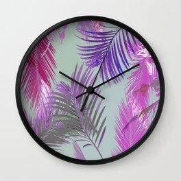 California Dreaming Purple Wall Clock