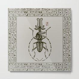 Kafkian Amulet IV: Sobek Metal Print