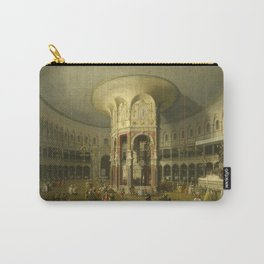 London, Interior of the Rotunda at Ranelagh by Canaletto Carry-All Pouch