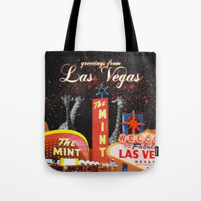 greetings from Las Vegas Tote Bag