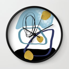 Modern minimal forms 10 Wall Clock