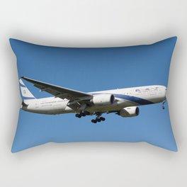 El Al Boeing 777 Rectangular Pillow