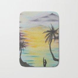 """Daydream""- Surfers View Series Bath Mat"