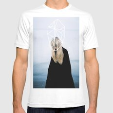 COMA MEDIUM Mens Fitted Tee White
