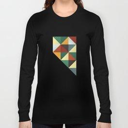 Geometric Nevada Long Sleeve T-shirt