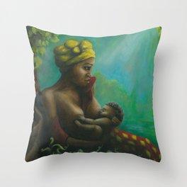 mumma love Throw Pillow
