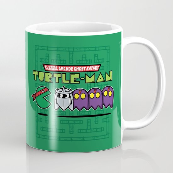 Hero in a Pac-Shell (Raph) Mug