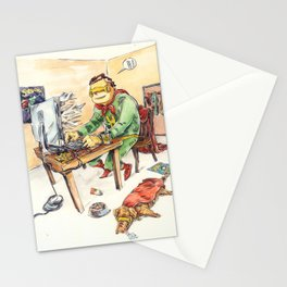 Hero and his Superdog Stationery Cards